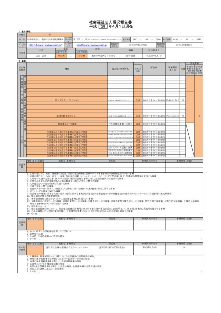 H28現況報告のサムネイル
